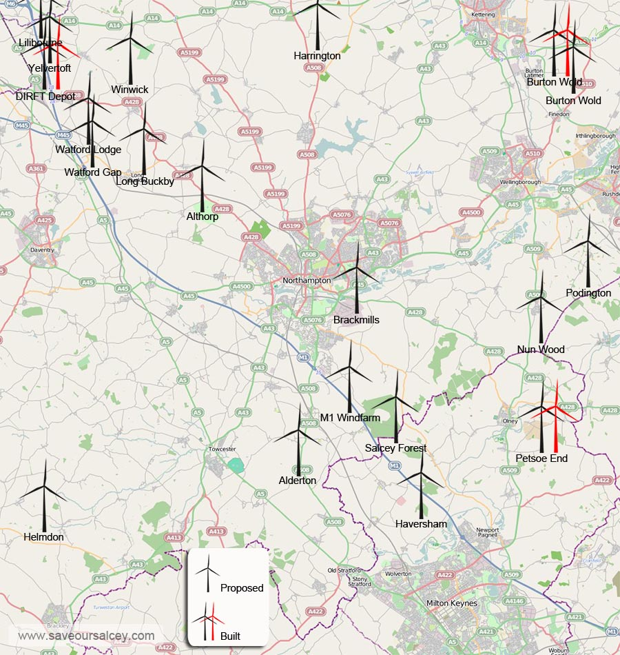 if we dont make clear planning objections to these blots on our landscape 20 local wind farm proposals with potentially 159 turbines in our area